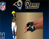 Rams Men Rider Gloves