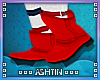 ! KID Red Boots