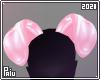 Rubber   Pink piggy ears