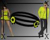 .X. Sasha Choker Yellow