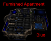 Furnished Blue Apartment