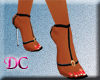 (DC)Floss Black Sandals