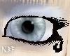 Icey blue eyes