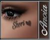 Sheri Face Tattoo