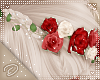 !D! Hair Flower Red