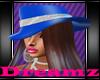 DanceHall Blue Hat