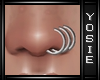 ~Y~Nose Rings Left