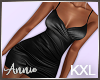 Silky Dress - Black KXL