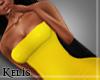 K. RLL Tube Dress Yellow