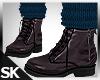Fall Boots w/Sock Blue