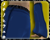 Rai Wushu Bottoms Blue