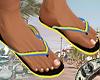 Kf. Scooby Flip Flops