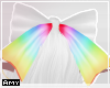 f rainbow bow