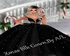A/L  Christmas Blk Gown