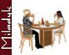 MLK Ani Rattan Table