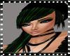 Nozomi green stripes