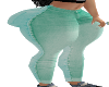 XBM TEAL TWO COLOR JEANS