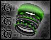 TTT Mixed Bangles ~Green