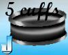 Stunnah Cuffs Silver
