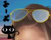 R Summer Sunglasses blue