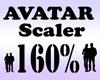 Avatar Scaler 160% / M