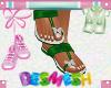 Butterfly Sandals DGreen