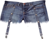 gater shorts jean s