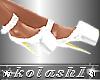 K*Shoes white platforms