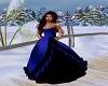 RoyalBlueBlack Gown