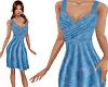 TF* Blue Wrap Dress