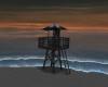 Tower dark beach - R69