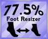 Foot Scaler 77.5%