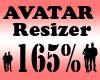 Avatar Scaler 165% / F