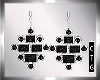 CTG BLK DIAMOND EARRINGS