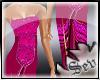 ~S~Hott pink gown
