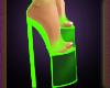 Netlicious Heels Green