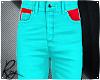 Cyan Neon Jeans