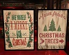 Christmas Country Signs
