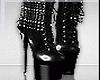 Black Chrome Heel