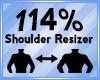 Shoulder Scaler 114%