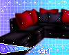 Red Chill L Couch