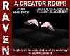 CREATOR ROOM SMALL BLACK
