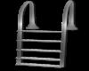 Silver Pool Ladder