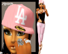 |M| La Pink Fitted