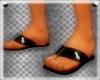 Polo Flip Flops Black