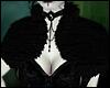 \/ Black Fur Shrug
