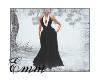 !E! Black Tuxedo Dress