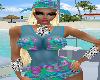 MARINA BLUE HAT