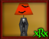 Skeleton Casket Lamp bat