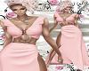 Pink Ring Slit Dress